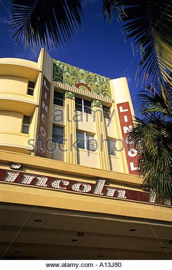 Miami Beach Movie Theater Lincoln