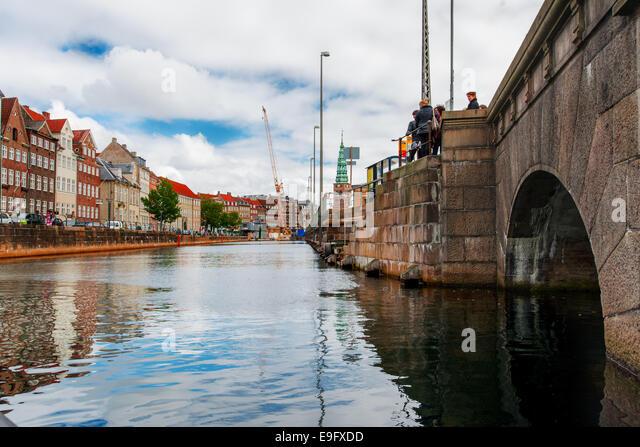 Copenhagen Kanal - Stock Image