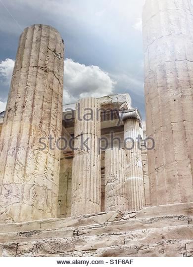 at The Acropolis' - Stock Image