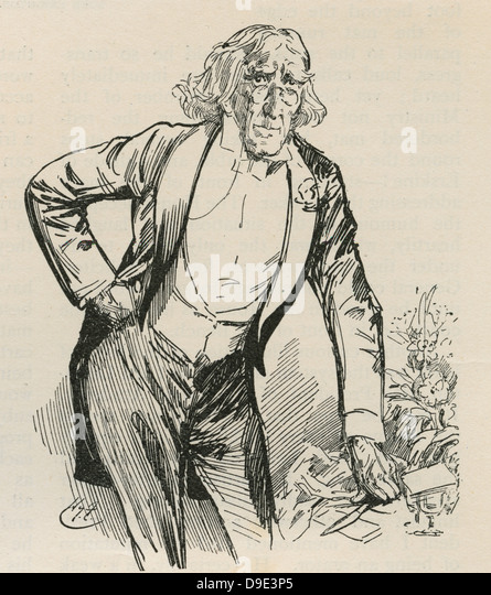 Henry Irving (1838-1905) English actor-manager. - Stock-Bilder