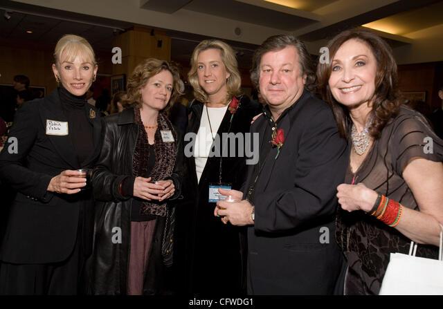 Feb 21, 2007 - Beverly hills, CA, USA - ROBIN VOSS, CARA MERTES, LESLIE IWERKS (Oscar nominated filmmaker, Recycled - Stock Image