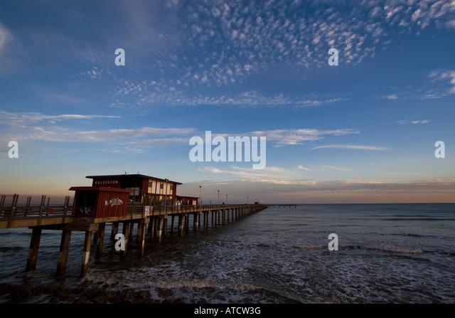 Galveston hurricane stock photos galveston hurricane for Galveston fishing pier