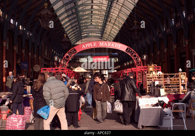 New Covent Garden Market London - Stock Image