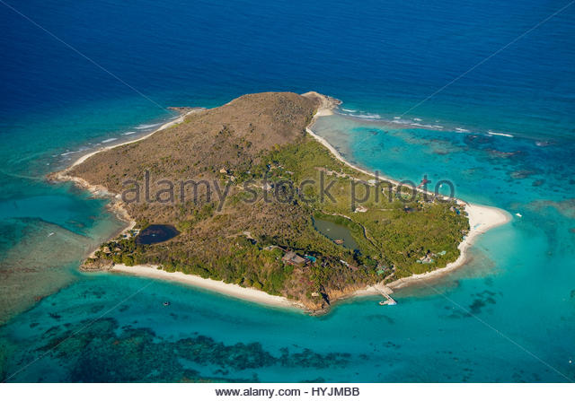 Necker island in british virgin islands