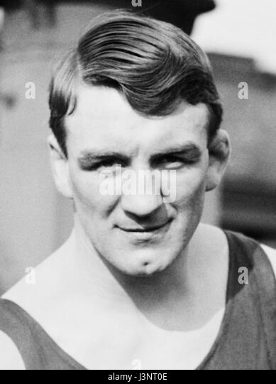 Vintage photo of boxer Freddie Welsh (1886 – 1927) – World Lightweight Champion 1914 – 1917. Welsh (real name Frederick - Stock Image