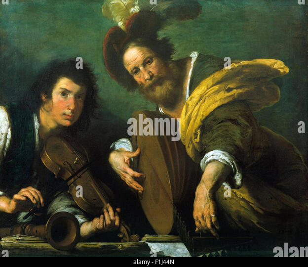 Bernardo Strozzi - The Concert - Stock Image