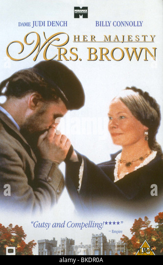 MRS BROWN -1997 POSTER - Stock Image