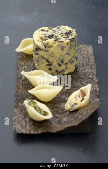 Seaweed butter - Stock Image
