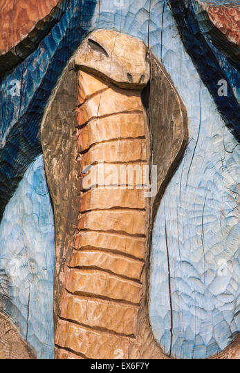 Wooden Snake Carving Stock Photos Amp Wooden Snake Carving