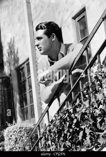 American actor Cary Grant (1904-1986). - Stock-Bilder