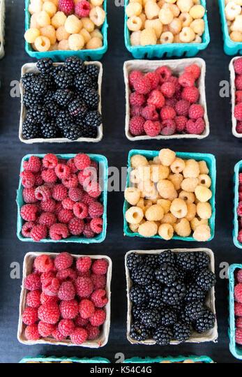 fresh, organic, vegetable, farmers market - Stock Image