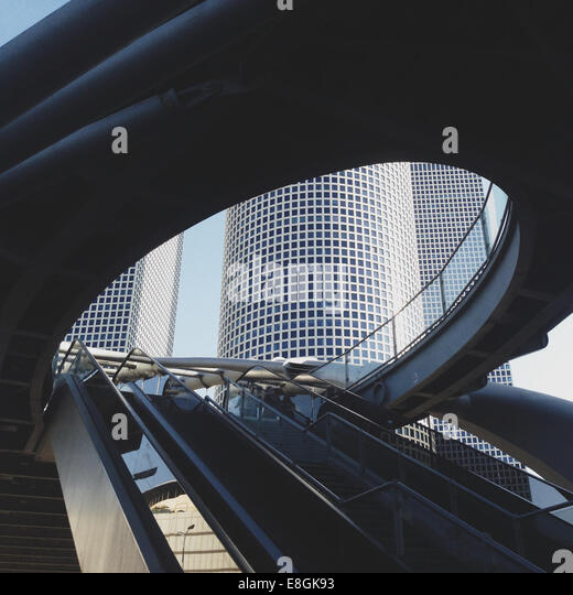 Israel, Azrieli Towers - Stock Image