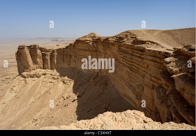 The Edge of the World, Riyadh, Saudi Arabia - Stock Image