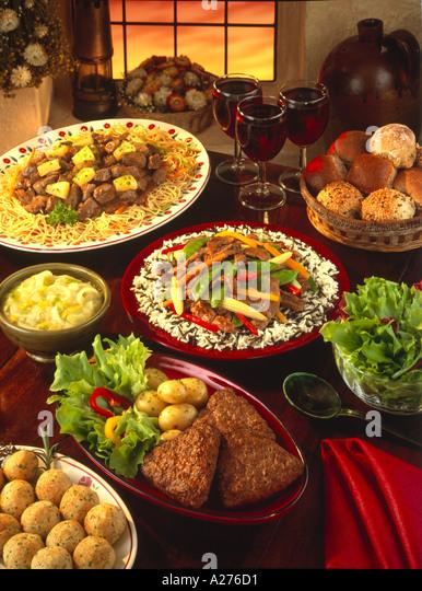 INTERNATIONAL FOOD - Stock-Bilder