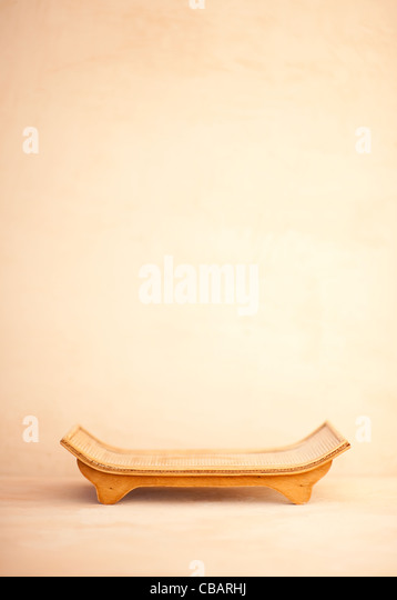 Zen service tray simple still life photograph. - Stock Image
