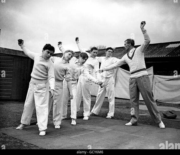 Cricket - Lord's Cricket School - Lord's - Stock Image