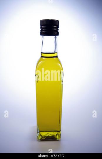 Bottle of Olive Oil - Stock-Bilder