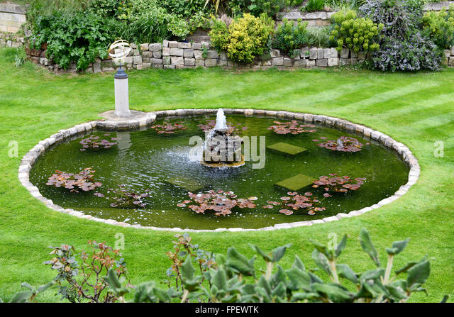 Round Water Feature Stock Photos Round Water Feature