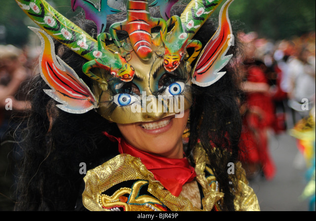 Karneval der Kulturen, Carnival of Cultures, Berlin, Kreuzberg district, Germany, Europe - Stock-Bilder