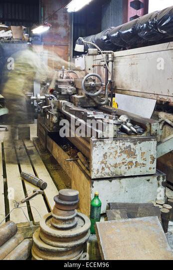 lathe machine shop