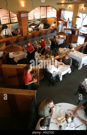 New Mexico Albuquerque Knob Hill Scalo Restaurant W - Stock Image