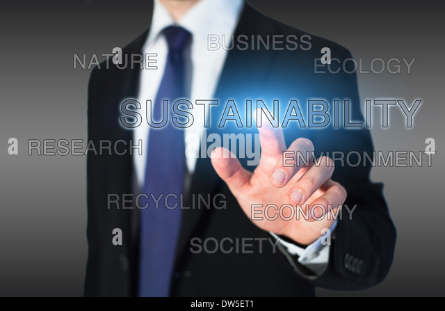 Sustainability concept - Stock-Bilder