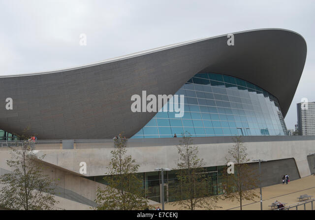 Aquatic Centre Stratford Stock Photos Aquatic Centre Stratford Stock Images Alamy
