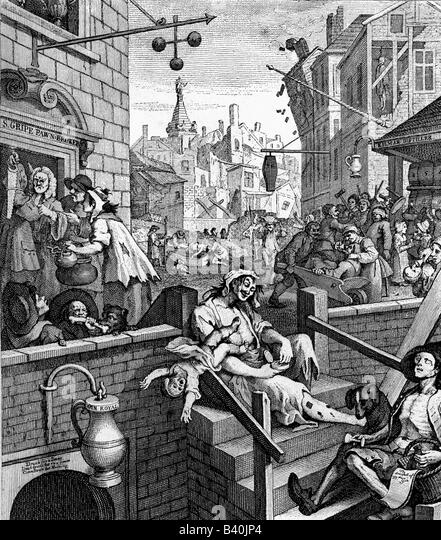 the gin act in england In 1688 king william iii and some english soldiers in the low countries introduced gin to england in the alcohol 'family' gin stands  in 1736 the famous gin act .