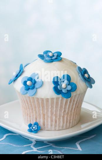 Gourmet cupcake - Stock Image