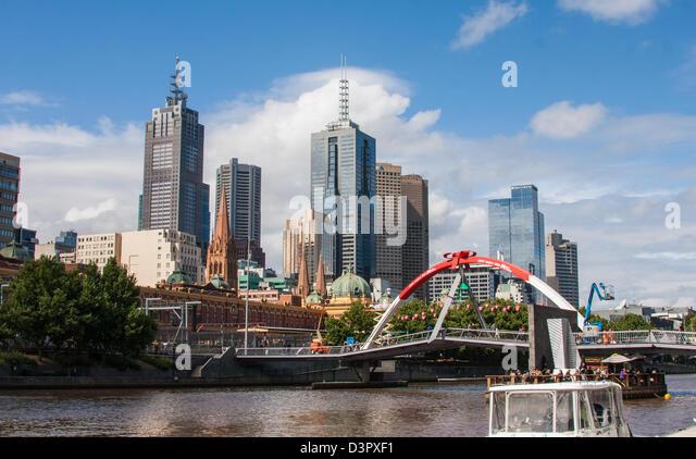 Picture taken in Melbourne, Australia - Stock Image