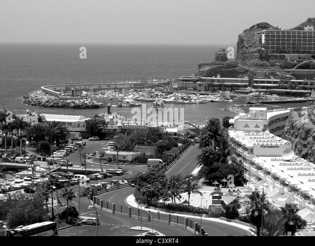 Gran canaria spain puerto rico stock photos gran canaria spain puerto rico stock images alamy - Taxi puerto rico gran canaria ...