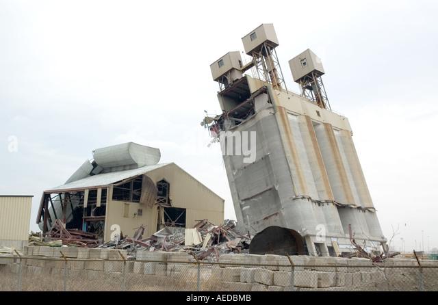 Building Demolition With Explosives : Explosive building demolition stock photos