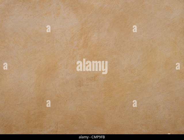 texture of the walls are covered with orange putty - Stock-Bilder