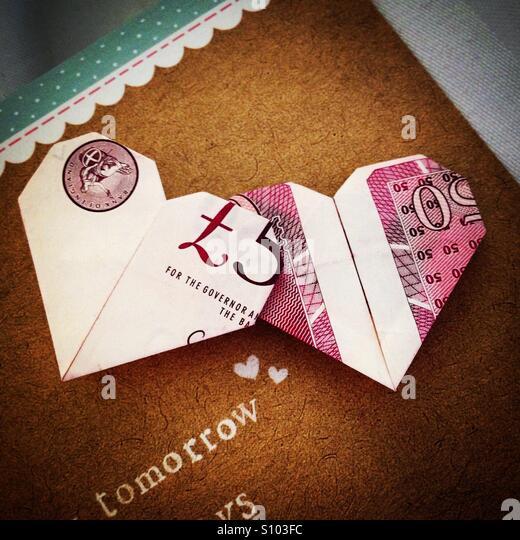 ten pound note origami related keywords ten pound note