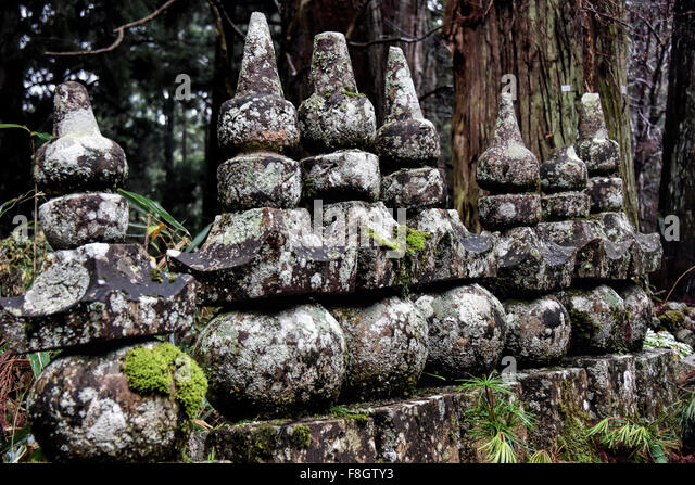 Japan -  culture, tradition, sentiment and history, the past and future cast in stone. - Stock Image