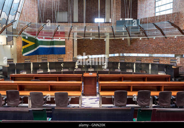 Constitutional Court of South Africa in Johannesburg - Stock Image