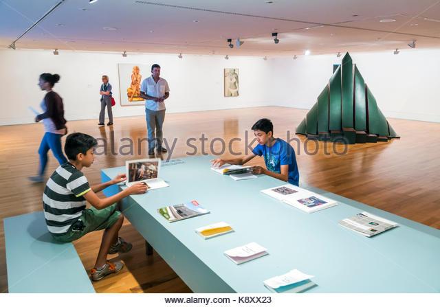 Portugal Lisbon Belem Centro Cultural de Belem Museu Colecao Berardo Berardo Collection contemporary modern art - Stock Image