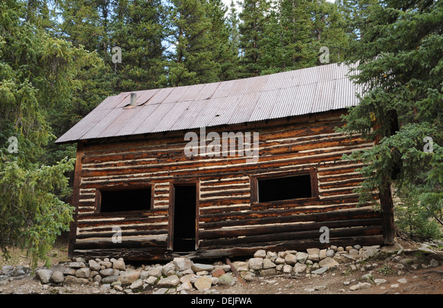 Miners Cabin Stock Photos Miners Cabin Stock Images Alamy