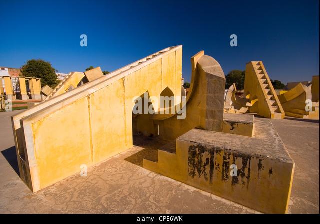 Jantar Mantar, Jaipur, Rajasthan, India, Asia - Stock-Bilder