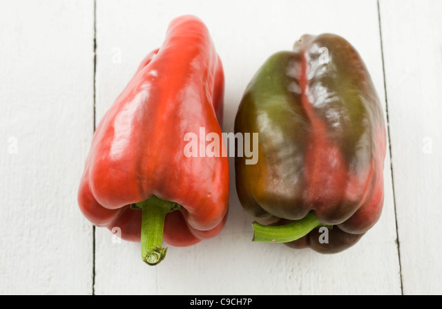 Bell peppers - Stock Image