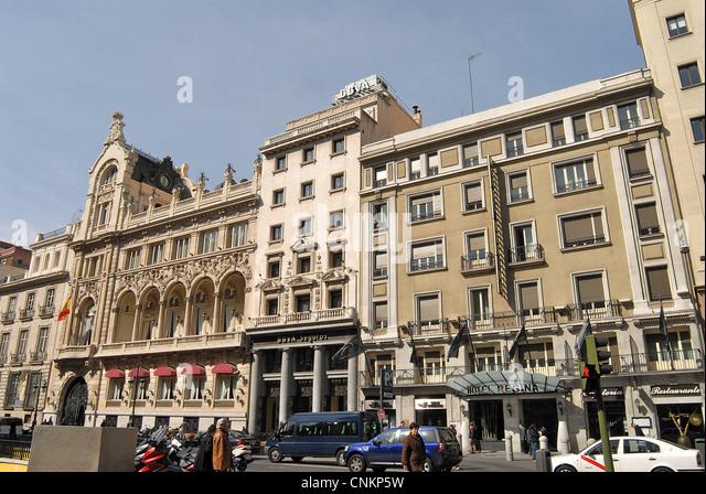 Hotel regina stock photos hotel regina stock images alamy for Hotel regina madrid opiniones