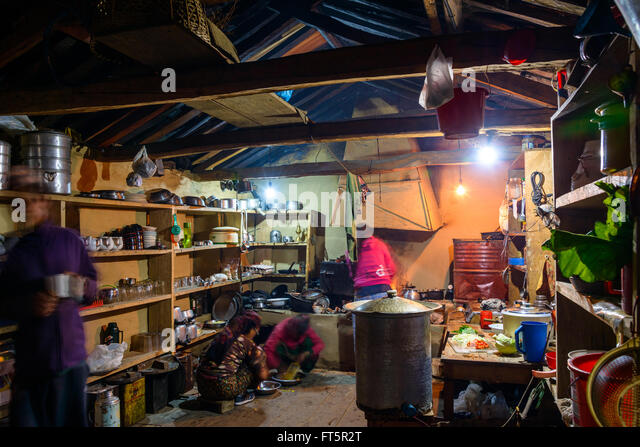 Ghandruk stock photos ghandruk stock images alamy for Kitchen equipment in nepal