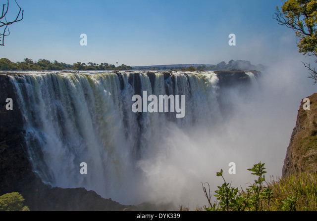 Victoria Falls, Zimbabwe - Stock Image