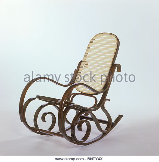 Wood Rocking Chair Stock Photos Wood Rocking Chair Stock