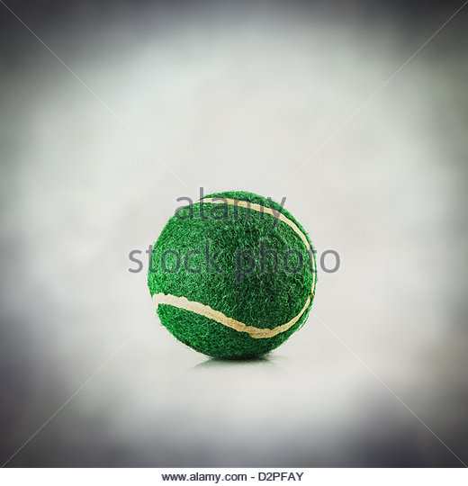tennis ball - Stock Image