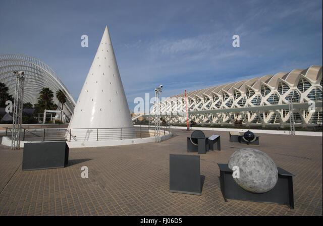 """""""Meseo  de las Ciencias Principe Felipe""""  science museum Valencia - Stock Image"""