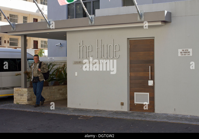 The Hyde Luxury All Suite Hotel Sea point Cape town - Stock Image