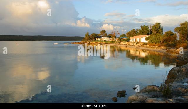 Seaside township of Tulka Eyre Peninsula South Australia - Stock-Bilder