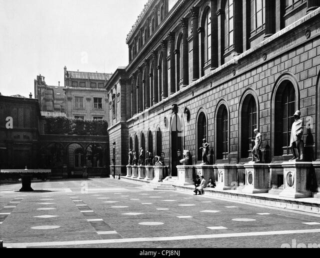 Ã?cole Nationale des Beaux-Arts in Paris, 1936 - Stock-Bilder