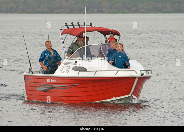 Going fishing stock photos going fishing stock images for Family fishing boats